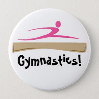 Gymnastiek! Knoop Ronde Button 4,0 Cm