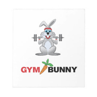 gymnastiek konijntje 2 notitieblok
