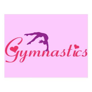 Gymnastiek met Harten Briefkaart