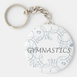 Gymnastiek met Werveling Sleutelhanger