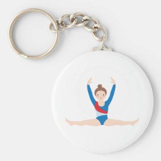 Gymnastiek Sleutelhanger
