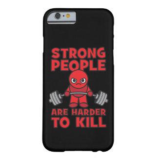 Gymnastiek - Sterke Mensen zijn Moeilijker te Barely There iPhone 6 Hoesje