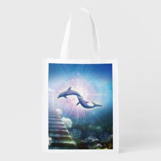 H019 de Dolfijnen van Nori Boodschappentas