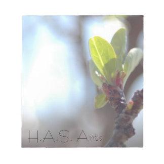 H.A.S. De Blocnote van de Lente van kunsten
