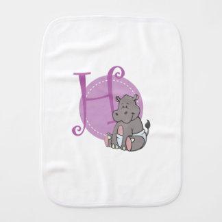 H is voor Hippo Spuugdoekje
