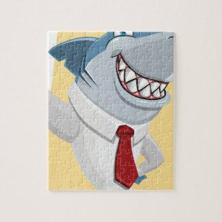 haai cartoon puzzel