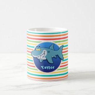 Haai; De heldere Strepen van de Regenboog Koffiemok
