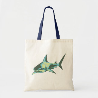 haai vissen, wilde dieren draagtas