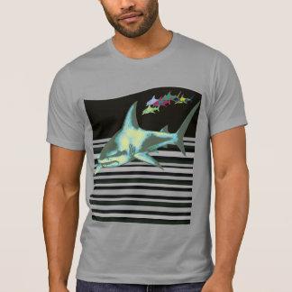 haaien, gevaarlijke voorzichtigheid, t shirt