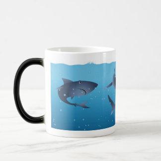 Haaien Magische Mok