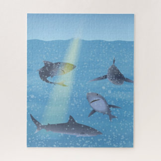 Haaien Puzzel