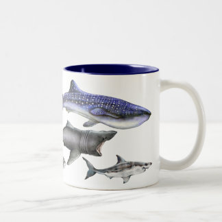 Haaien van de Wereld Tweekleurige Koffiemok