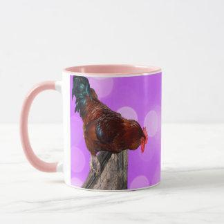 Haan Bemoeizieke Parker, de Roze Mok van de Koffie