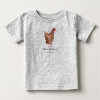 Haan | Jongen | van de Markt van de landbouwer van Baby T Shirts