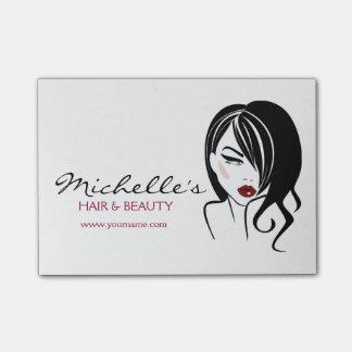 Haar & de salon van de Schoonheid het brandmerken Post-it® Notes