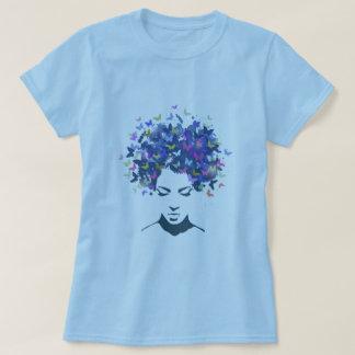 Haar van de T-shirt van Vlinders