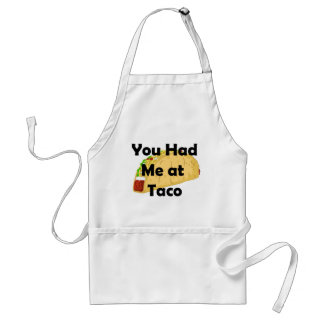 Had me bij de Schort van de Taco