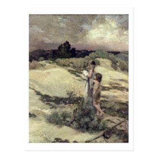 Hagar en Ishmael Briefkaart
