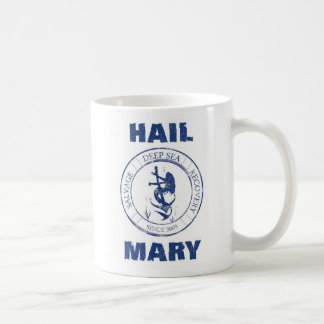 Hagel Mary Crew (wit) Mug Koffiemok