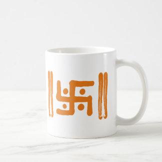 Hakenkruis: Indisch Godsdienstig Symbool Koffiemok