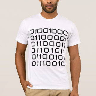 Hakker (in Binaire Vorm) T Shirt