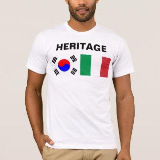 Half Koreaans, half Italiaans T Shirt