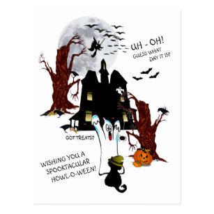 Welke Dag Halloween.Halloween De Gissing Van Uh Oh Welke Dag Het Is Briefkaart