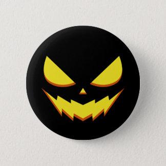 Halloween - de Knoop van het gezicht van de Ronde Button 5,7 Cm