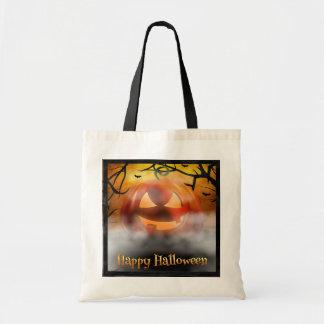 Halloween - Enge Pompoen - Mist Draagtas