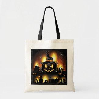 Halloween - Enge Pompoenen w/Hat Draagtas