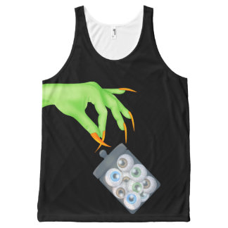 Halloween helemaal over Gedrukte Unisex-Tank All-Over-Print Tank Top