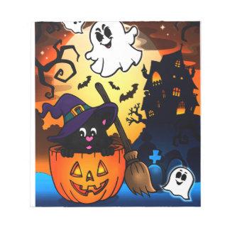 Halloween Kladblok