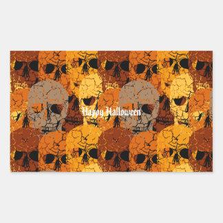 Halloween Rechthoekige Sticker