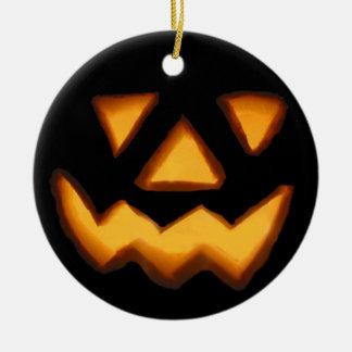 Halloween Rond Keramisch Ornament