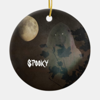 Halloween Rond Keramisch Ornament
