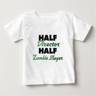 Halve Directeur Half Zombie Slayer Baby T Shirts