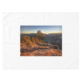 Halve Koepel bij Zonsondergang - Yosemite Tafelkleed