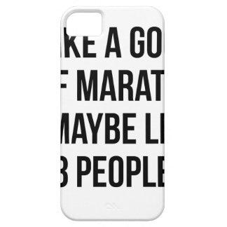 Halve Marathon & 3 Mensen Barely There iPhone 5 Hoesje