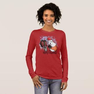 Ham en Kerstmis Piggy T Shirts