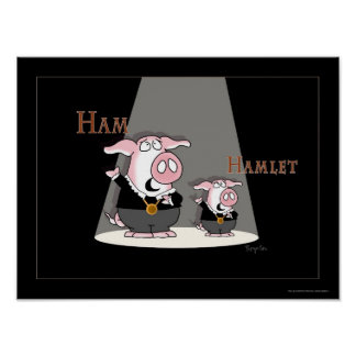 HAM/HAMLET poster door Sandra Boynton