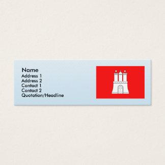 Hamburg, Duitsland Mini Visitekaartjes