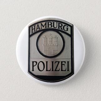 Hamburg Polizei Ronde Button 5,7 Cm