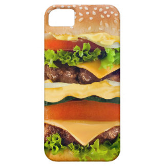 Hamburger Barely There iPhone 5 Hoesje
