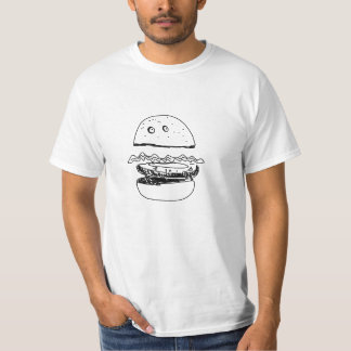 Hamburger, de T-shirt