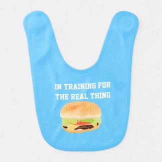 Hamburger in de Slab van het Baby van de Opleiding Baby Slabben
