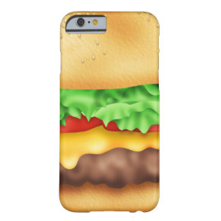 Hamburger met de partij! barely there iPhone 6 hoesje