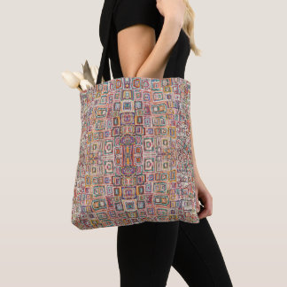 HAMbWG - Canvas tas - Kleurrijke Willekeurige