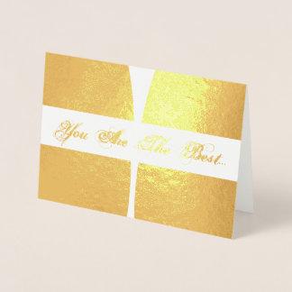 HAMbWG - de Gouden Kaart van de Folie - u is het