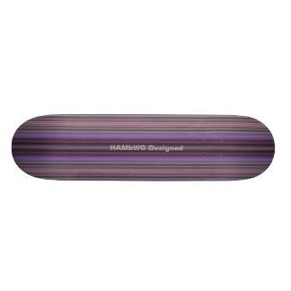 HAMbyWG - Skateboard - de Paarse Strepen van de
