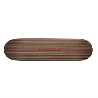 HAMbyWG - Skateboard - Fijne Strepen